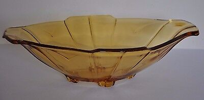 Bagley Pressed Glass Bowl