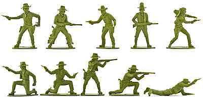 Airfix Cowboys - 20 figures - 1980s Production - mint - pose distribution varies