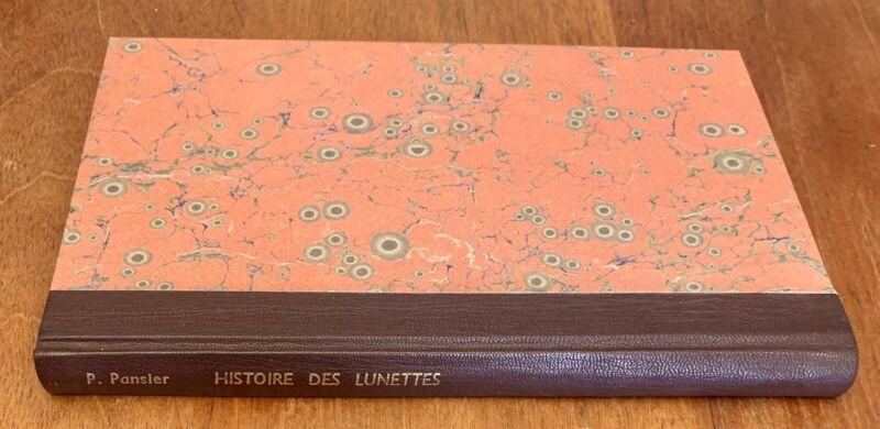 History of Glasses, Optics 1901
