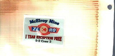 Nice  Consol  New Logo Mcelroy Mine  Coal Co  Coal Mining Sticker   502