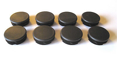 8 - 1 12 Round Tubing Plastic Plug End Cap 1.5 Post Leg Glide Pipe Hole Cover