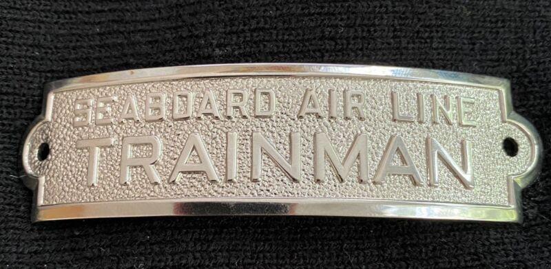 SEABOARD AIR LINE TRAINMAN Hat Badge