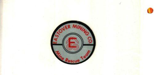 NICE EASTOVER MINING  MINE RESCUE COAL MINING STICKER # 43