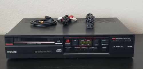 Vintage Magnavox CDB560 BK01 CD Player  with RCA cord (Made in Belgium)