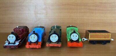 Trackmaster Thomas & Friends Emily Percy Arthur WORKING Motorized Trains Lot