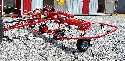 New Enrossi G4V520 PTH 17 ft.  Hydraulic Fold Hay Tedder---Can ship cheap