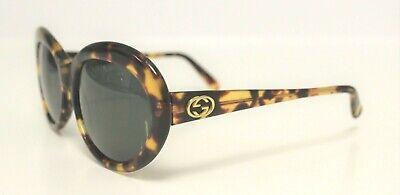 Vintage 90s GUCCI GG 2157/N/S Tortoise Brown Sunglasses 58-18-135 Rare