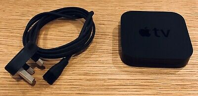 Apple TV (3rd Generation) HD Media Streamer - A1469 - Good Condition.