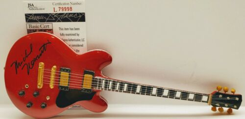 MICHAEL NESMITH Signed Autograph Mini Guitar JSA