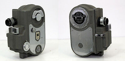 Vtg. Collectors Cinemaster II G-8 Double 8mm Cine Camera Universal Camera Corp, used for sale  Shipping to India