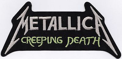 METALLICA - CREEPING DEATH - IRON or SEW ON PATCH