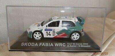 DEL PRADO / IXO  DIE CAST 1 / 43 SCALE SKODA FABIA WRC D.Auriol - D.Giraudet 03