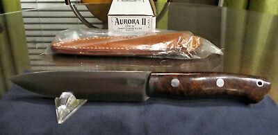 Bark River Knives - Aurora II - Desert Ironwood Burl - CPM 3V