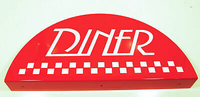 Williams Diner Pinball Topper - Laser Cut Steel - NOS - Hard to Get  Item