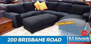 Indiana Corner Modular with Chaise and Warranty Booval Ipswich City Preview