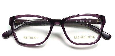 Michael Kors MK 269 505 Eyeglasses Frames Glasses Dark Purple 49-16-135 (Dark Eye Glasses)