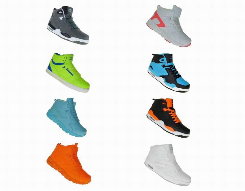 High Top Basketballschuhe Schuhe Sneaker Skater Skaterschuhe Damen Herren 006
