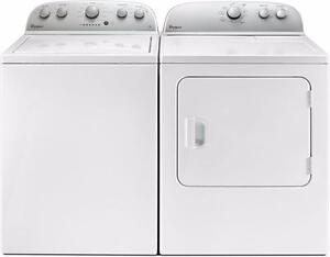 White Washer-Dryer Combo, GAS, Whirlpool