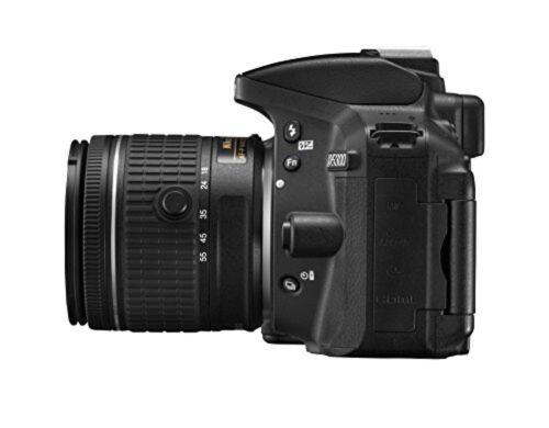 как выглядит Nikon Digital SLR Camera D5300 AF-P Double Zoom Kit Black D5300WZ3 фото