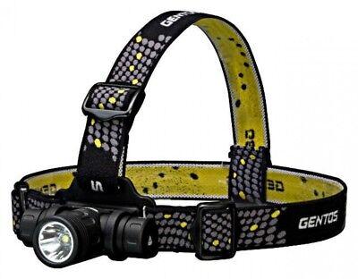 520lm Led-licht (Gentos Tx-540xm T-Rex Led Kopf Licht 520lm Aluminium Körper Japan mit Verfolgen)