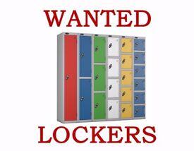 LOCKERS WANTED