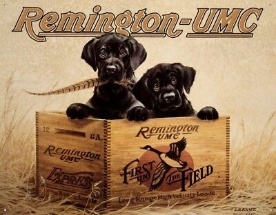 Remington Gun Labrador Dog Hunting Rustic Picture Cabin Man Cave Wall Decor Gift