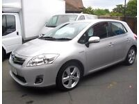 Toyota auris T Spirit Hybrid 2010 auto 29073 miles ONLY great condition