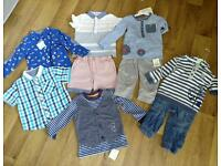 Boys clothes 9-18 months all new