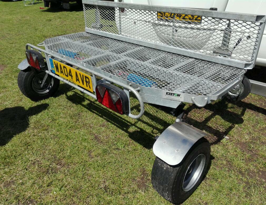 Water Tank Trailer >> Motorhome swivel wheel Trailer, scooter carrier for campervan camper | in Bransholme, East ...