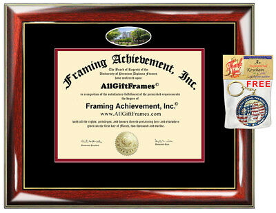 - Rutgers University Netwark Diploma Frame campus photo College Degree Graduation