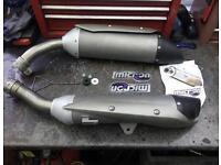 Yamaha r1 exhaust end new.!!!