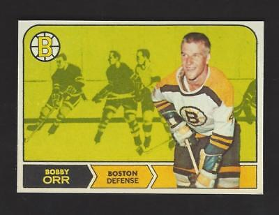 Bobby Orr - 1968/69 Card Design Fridge Magnet - Bruins