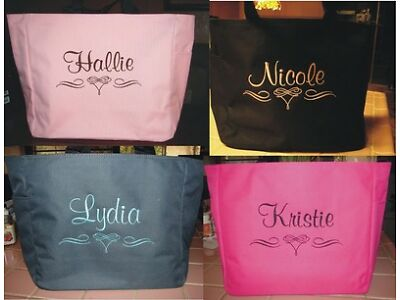 5 Fusion TOTE Bag personalized  BRIDESMAID SCROLL BRIDAL SHOWER CHEAP  GIFT