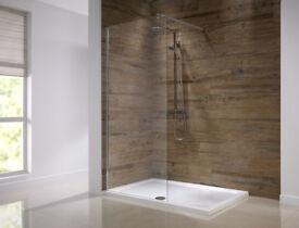 900mm Shower Wetroom Screen