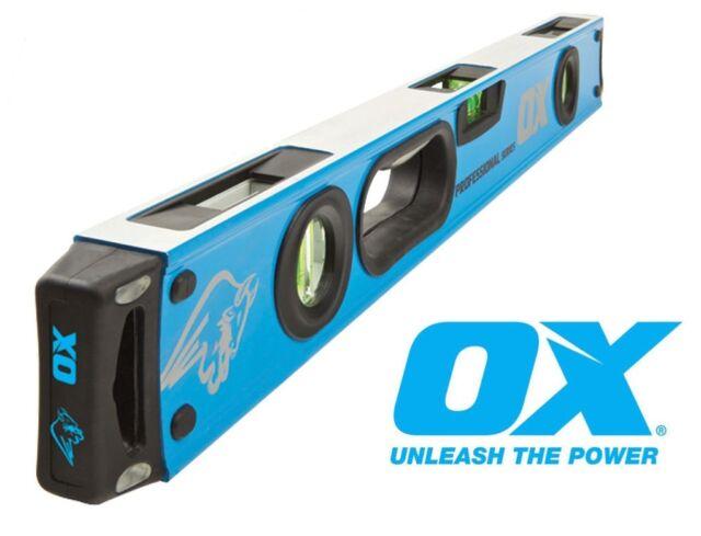 "Ox 2000mm Professional Spirit Level Extra Long 2m, 78"""