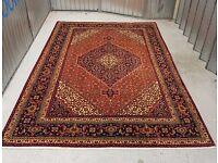 Fabulous Pure Wool Hand-Woven Persian Tabriz Rug 295×200 CM