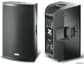 Pair of FBT XLite 15 Speakers with FBT covers for sale-Immaculate condition