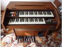 Galanti X365 organ, stool, instructions