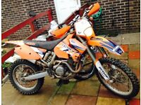 2005 ktm 450 exc road legal 7 month mot