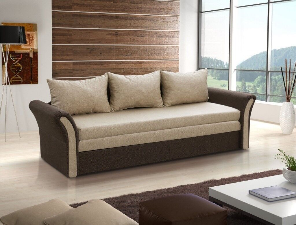 Brand New Large Sofa Bed Ready For Immediate Collection Delivery Possible