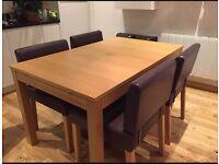 IKEA Bjursta extendable dining table £45