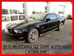 2010 Ford MUSTANG GT,COUPE,AUTO,CUIR,NAVI,V8