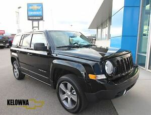 2016 Jeep Patriot 4X4 High Altitude, Auto, Heated Leather, Alloy