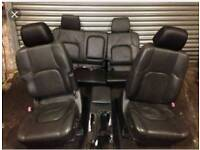 Nissan pathfinder leather seats