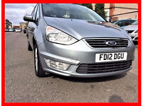 PCO --- 2012 Ford Galaxy 1.6 TDCi Zetec (Start/Stop) --- 55800 Miles -- 7 Seater --alternate4 sharan