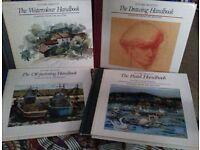 Set of Artist Handbooks-unused, good condition, By Ettore Maiotti