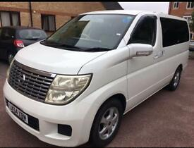 Nissan ELGRAND 2.5 5dr Auto Patrol low mileage 7 seats white beige internal