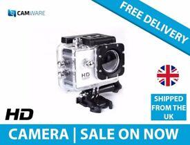 Full HD Action Camera Waterproof DVR00 -J4000 (Black) 1080P
