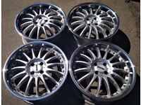 R18 Poster Alloy wheels made in Germany 4x100 VW Honda Mazda