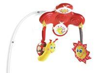 Tiny love red 3-1 rocker napper